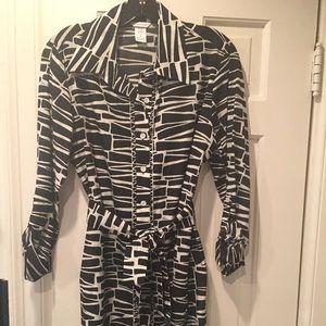 Trina Turk Shirt Dress or Tunic Top.  Sz Med NWOT